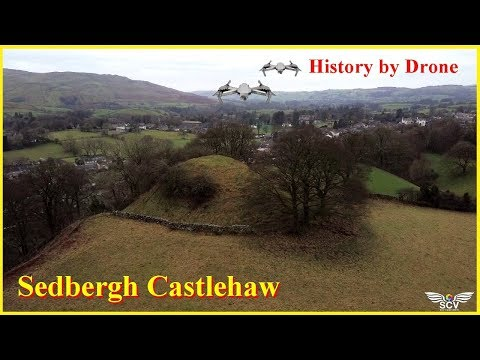 🌏Sedbergh Castlehaw Cumbria🌏...HISTORY BY DRONE SERIES....Feb 2019..